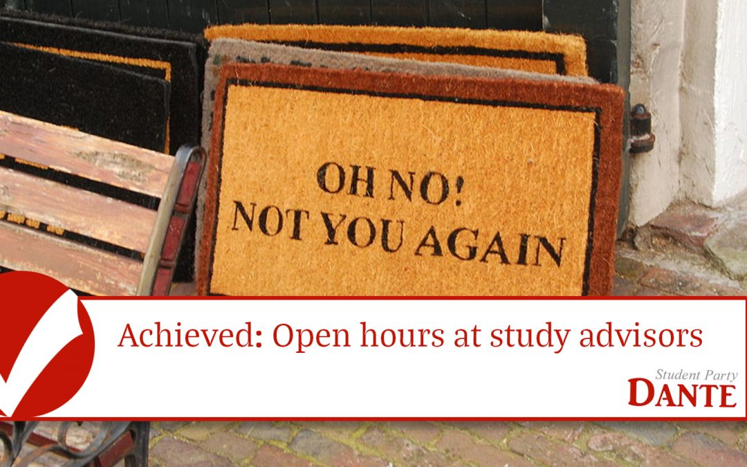 Achieved: Open Office Hours Education Coordinator